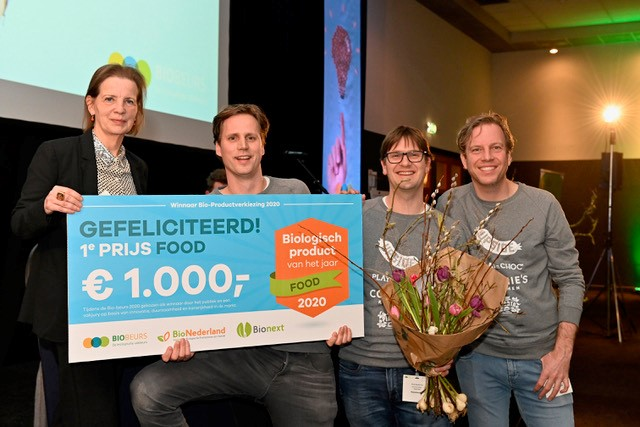 Duurzaam alternatief kinder surprise 'Beste bio product 2020'